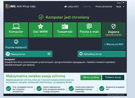 darmowy antywirus AVG AntiVirus Free Edition 2013