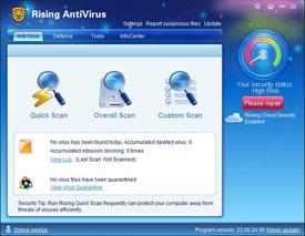 darmowy antywirus Rising Antivirus Free Edition